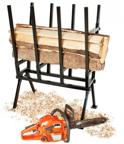 Holzsägebock-Sägebock-400kg-Holzbock-Sägehilfe-Brennholz-Kettensäge-Izzy