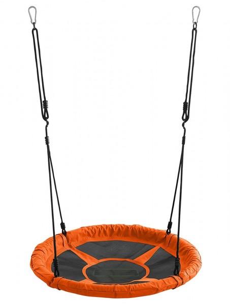 Mehrkind-Nestschaukel-Kinder-orange-110cm-150kg-rund-Garten-Schaukel-izzy-rcee-73228