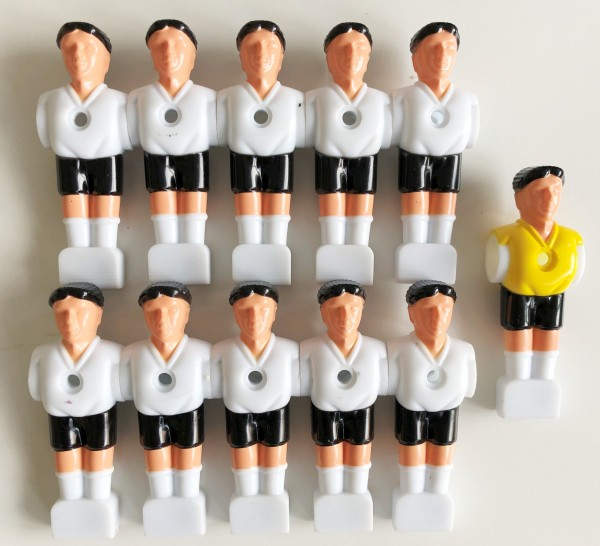 Tischkicker-Ersatz-Mannschaft-weiß-Kicker-Ersatzteile-11Kicker-Izzy