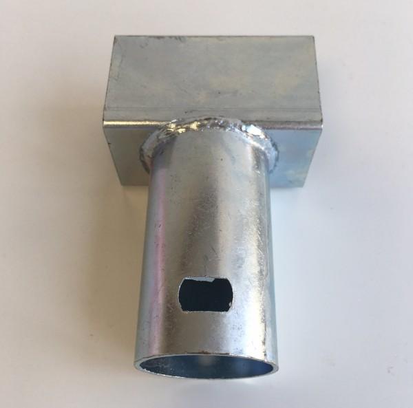 T-Stück-Verbindungsrohr-Trampolinbein-zum-Rahmenteil-des-Trampolins-izzy-73862